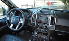 Ford F150 Truck Interior - 2015 ford f 150 platinum review and photo gallery autonation drive