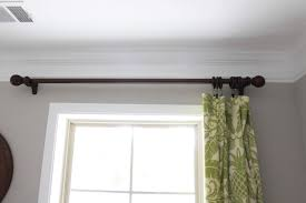 Diy Curtain Rod Finials The Charming Of Diy Curtain Rods Ideas U2014 Home Design Lover