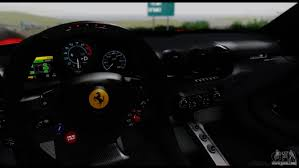 Ferrari F12 Drift - ferrari f12 berlinetta for gta san andreas