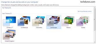 windows 7 desktop themes united kingdom how to install back hidden windows 7 themes techdunes
