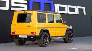 posaidon mercedes amg g63 goes all the way up to 850 hp 4 images