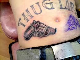 thug life tattoos for men and women photo 1 photo pictures
