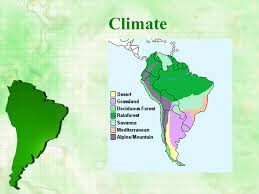 south america map rainforest south america the continent presentation geography sliderbase