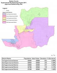 solano county map solano county supervisor district maps now