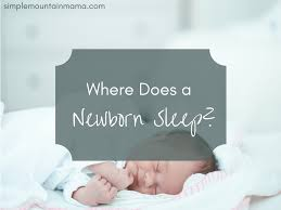 Baby Sleeping In A Crib by How To Help Your Baby Sleep Through The Night Simple Mountain Mama