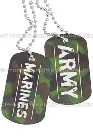 engravable dog tags camouflage dog tags with custom engraving green army camo