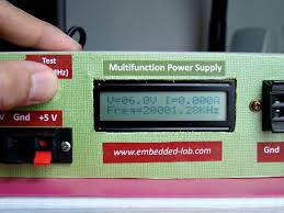Variable Bench Power Supply With Lcd And Monitor Display A New Multi Function Power Supply Unit For My Embedded Lab