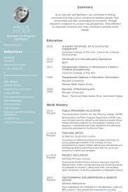 Monash Resume Sample by Facilitator Resume Samples Visualcv Resume Samples Database