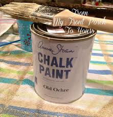Painting Kitchen Cabinets With Annie Sloan From My Front Porch To Yours Kitchen Cabinet Painting Tutorial