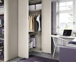 armoire d angle chambre armoire d angle de portes pliantes chambre ado meubles ros