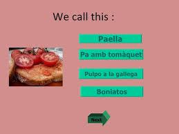 quiz sur la cuisine quiz on catalonia