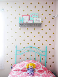 metallic gold polka dot wall decals polka dot walls 2