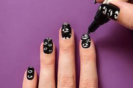 how to create kenzo inspired nail art teen vogue