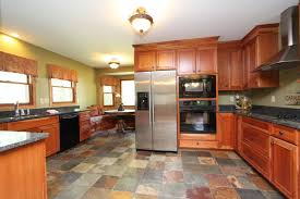 awesome slate kitchen floor problems with the installation of