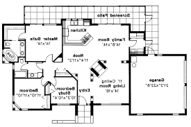 Mediterranean House Plan Mediterranean House Plans Carrizo 11 010 Associated Designs