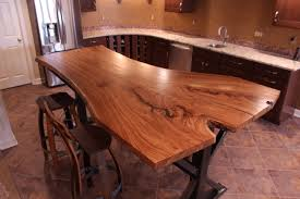 Slab Wood Bar Top Siberian Elm Live Edge Slab Table Top 1 Wunderwoods