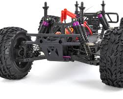 racing monster truck volcano epx 1 10 electric 4wd monster truck by redcat racing