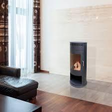 bioethanol heating stove contemporary corner steel