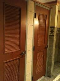 Stall Door Wood Doors Floor Tile Same Style Weull Have Bathroom Public