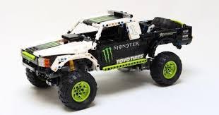 lego moc 3320 monster energy recoil baja truck technic 2015