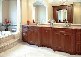 Houzz Bathroom Vanity Ideas by Furniture Home Traditional Cream Bakcsplash Plus Two Mirrors And