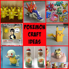 pokemon go craft ideas pokemon crafts pinterest pokémon
