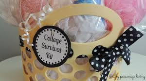 graduation gifts college thrifty parsonage living diy graduation gift college survival kit