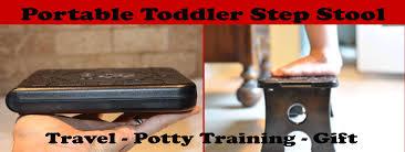 folding child step stool portable footrest