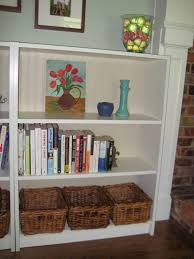 white beadboard bookcase in our spare time beadboard bookshelves sort of
