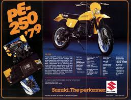 100 suzuki pe 250 amortisseur ohlins suzuki pe 250 1980