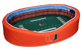 Razorback Crib Bedding by Amazon Com Ncaa Football Stadium Pet Bed Sports U0026 Outdoors