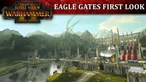 total siege total war warhammer 2 shows eagle gates siege footage
