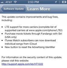 apple rolls out ios 6 1 with enhanced lte support