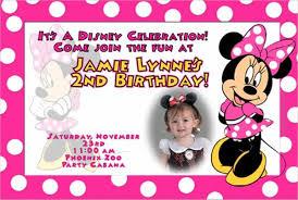 8 minnie mouse birthday invitations free editable psd ai