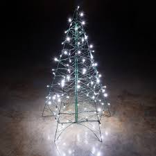 white tree lights at fabulous lighted