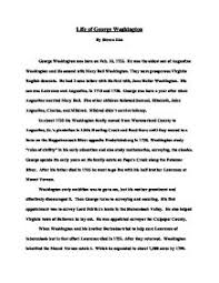 Resume Biography Sample by Biography Essay Example
