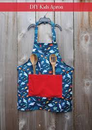 diy kids apron u2013 easy craft and sew