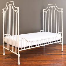 parisian toddler bed kit distressed white