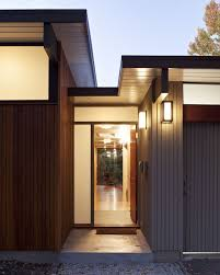 Home Design Style Types by Hunter Douglas Linear Metal Ceiling Exterior Design Pathways In