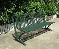 Steel Outdoor Bench Metal Outdoor Benches Foter