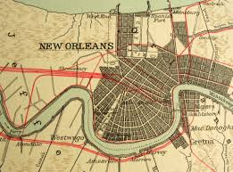 Downtown New Orleans Map by New Orleans Terms You Should Know New Orleans La Coldwell