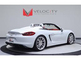 porsche boxster 2016 price 2016 porsche boxster spyder for sale in nashville tn stock
