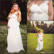 2016 maternity dresses spaghetti cheap chiffon a line pleated with