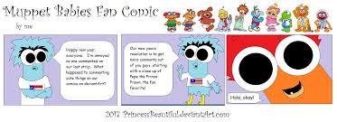 muppet babies fan comics princessbeautiful deviantart