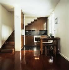 kitchen perfect kitchen under stair ideas with dark brown