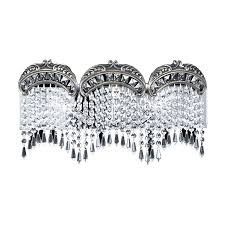 shop classic lighting emily roman bronze crystal bathroom vanity