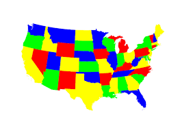 Color Map Of United States by Which Us State Should You Move To Quiz Matador Network
