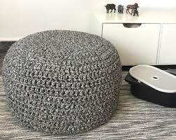 knit stool etsy