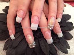 acrylic nails at nail salon nails art ideas