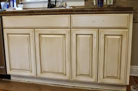 Cream Kitchen Cabinets With Glaze The Ragged Wren How To Glazing Cabinets
